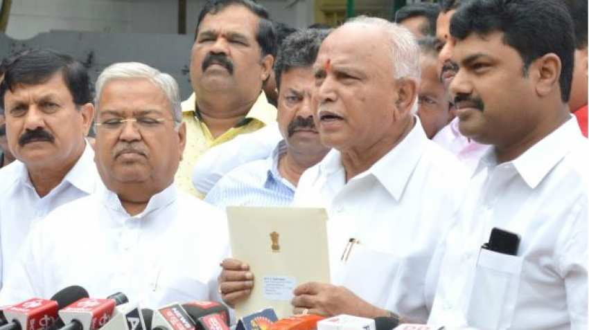 BS Yeddyurappa took oath as new CM of Karnataka